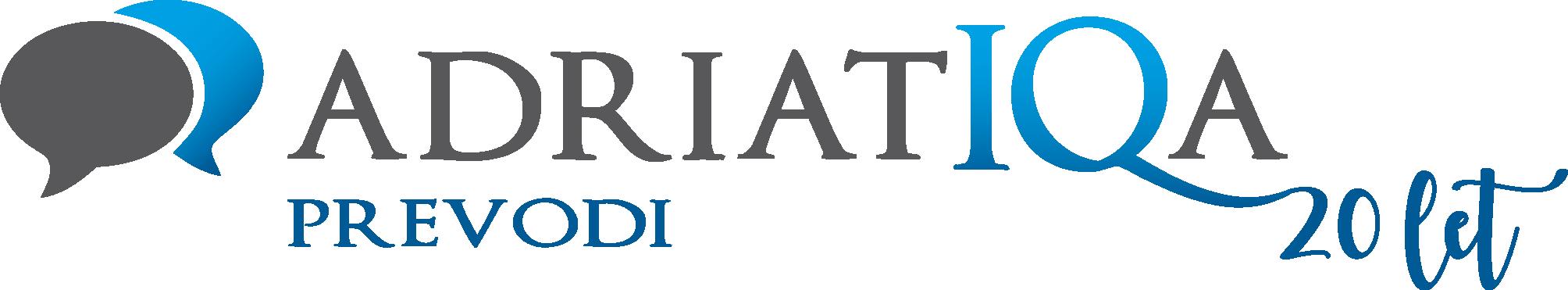 Logotip AdriatIQa_20 let